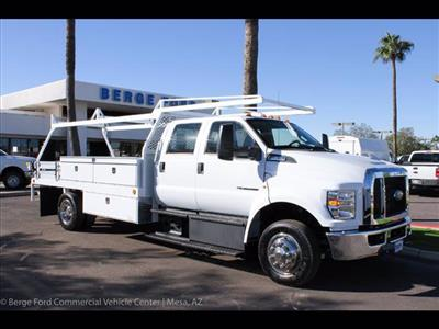 2019 F-650 Crew Cab DRW 4x2,  Scelzi CTFB Contractor Body #19P101 - photo 11