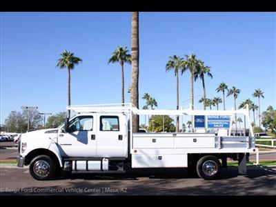 2019 F-650 Crew Cab DRW 4x2,  Scelzi CTFB Contractor Body #19P101 - photo 3