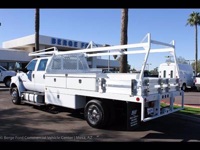 2019 F-650 Crew Cab DRW 4x2, Scelzi CTFB Contractor Body #19P101 - photo 5