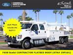 2019 F-650 Crew Cab DRW 4x2,  Scelzi Contractor Body #19P101 - photo 1
