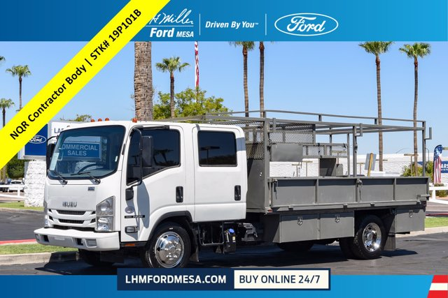 2017 Isuzu NQR Crew Cab 4x2, Platform Body #19P101B - photo 1