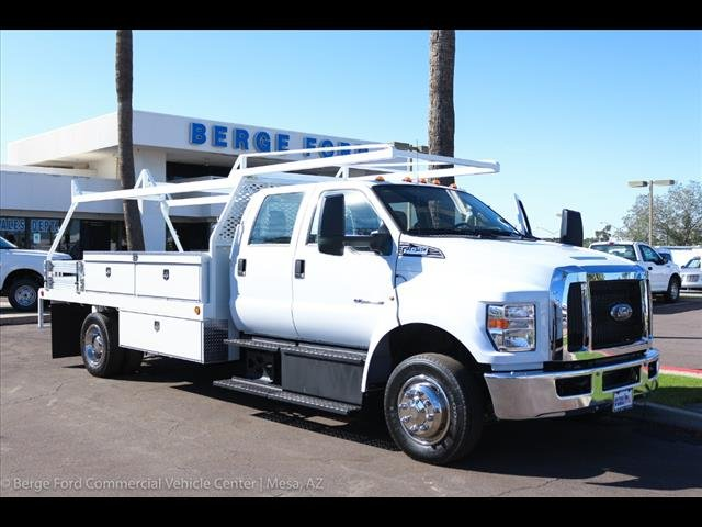 2019 F-650 Crew Cab DRW 4x2,  Scelzi Contractor Body #19P103 - photo 11