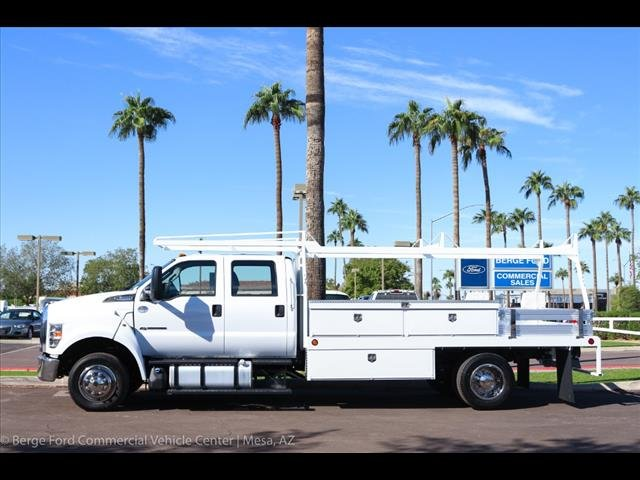 2019 F-650 Crew Cab DRW 4x2,  Scelzi Contractor Body #19P103 - photo 3