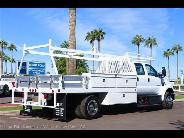 2019 F-650 Crew Cab DRW 4x2,  Scelzi Contractor Body #19P103 - photo 8