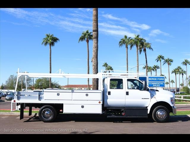2019 F-650 Crew Cab DRW 4x2,  Scelzi Contractor Body #19P103 - photo 9