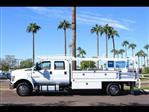 2019 F-650 Crew Cab DRW 4x2, Scelzi CTFB Contractor Body #19P103 - photo 3