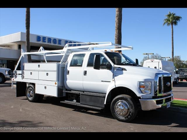 2019 F-650 Crew Cab DRW 4x2,  Scelzi Contractor Body #19P104 - photo 12