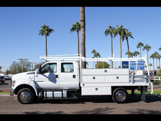 2019 F-650 Crew Cab DRW 4x2,  Scelzi Contractor Body #19P104 - photo 3