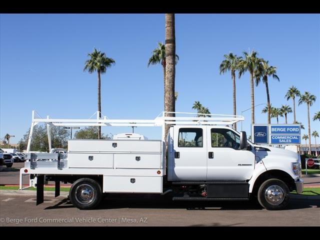 2019 F-650 Crew Cab DRW 4x2,  Scelzi Contractor Body #19P104 - photo 9
