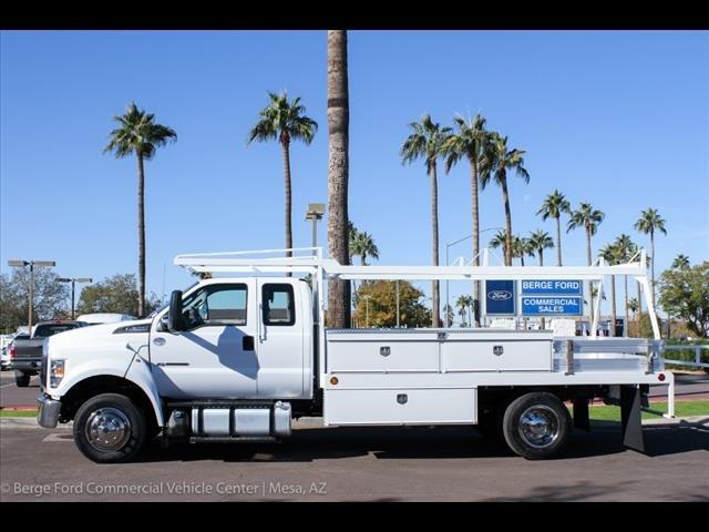 2019 F-650 Super Cab DRW 4x2, Scelzi CTFB Contractor Body #19P127 - photo 3