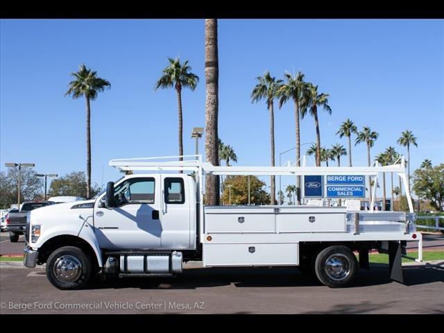 2019 F-650 Super Cab DRW 4x2,  Scelzi CTFB Contractor Body #19P127 - photo 3