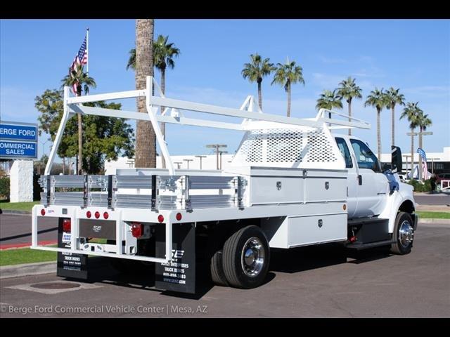 2019 F-650 Super Cab DRW 4x2, Scelzi CTFB Contractor Body #19P127 - photo 8