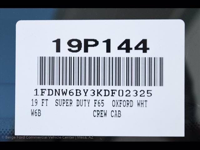 2019 F-650 Crew Cab DRW 4x2, Scelzi CTFB Contractor Body #19P144 - photo 35