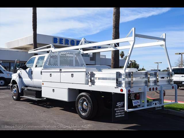 2019 Ford F-650 Crew Cab DRW 4x2, Scelzi Contractor Body #19P144 - photo 1
