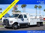 2019 F-650 Crew Cab DRW 4x2, Scelzi Contractor Body #19P144 - photo 1
