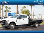 2019 F-350 Super Cab DRW 4x4,  Hillsboro GII Steel Platform Body #19P155 - photo 1