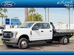 2019 F-350 Crew Cab DRW 4x4,  Hillsboro GII Steel Platform Body #19P165 - photo 1