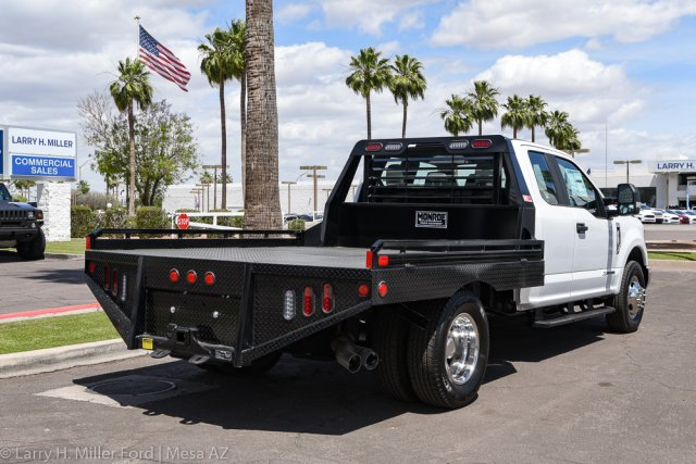 2019 F-350 Super Cab DRW 4x2, Hillsboro GII Steel Platform Body #19P283 - photo 11