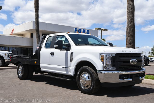 2019 F-350 Super Cab DRW 4x2, Hillsboro GII Steel Platform Body #19P283 - photo 15