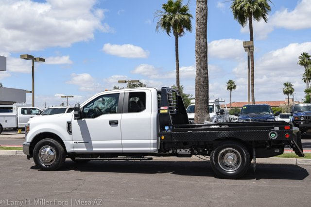 2019 F-350 Super Cab DRW 4x2, Hillsboro GII Steel Platform Body #19P283 - photo 5