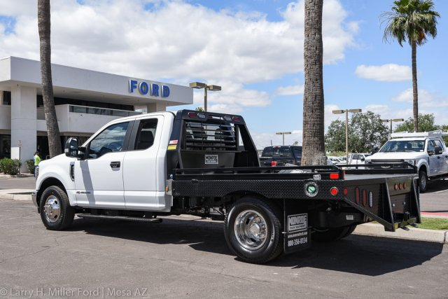 2019 F-350 Super Cab DRW 4x2, Hillsboro GII Steel Platform Body #19P283 - photo 2