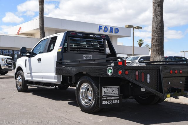 2019 F-350 Super Cab DRW 4x2, Hillsboro GII Steel Platform Body #19P283 - photo 6