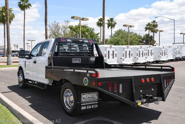2019 F-350 Super Cab DRW 4x2, Hillsboro GII Steel Platform Body #19P283 - photo 7