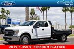 2019 F-350 Super Cab DRW 4x2, Hillsboro GII Steel Platform Body #19P283 - photo 1