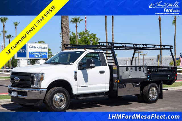 2019 Ford F-350 Regular Cab DRW 4x4, Freedom Contractor Body #19P553 - photo 1