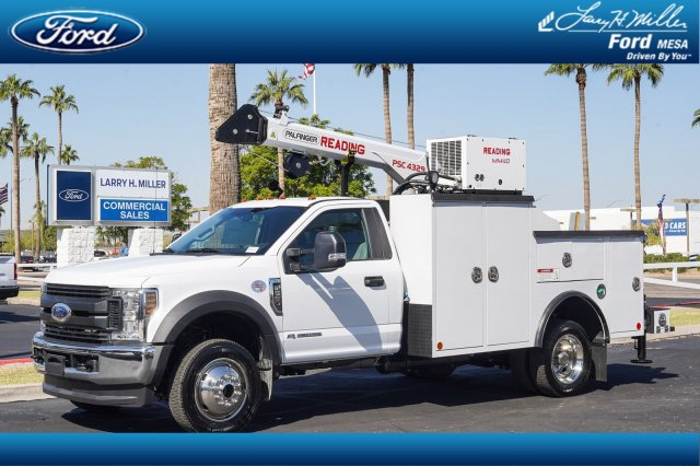 2019 F-550 Regular Cab DRW 4x4, Reading Mechanics Body #19P772 - photo 1