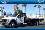 2019 Ford F-550 Regular Cab DRW 4x2,  Knapheide Platform Body #19P839 - photo 1