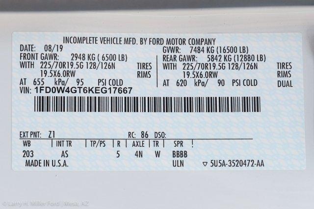 2019 F-450 Crew Cab DRW 4x2, Monroe Work-A-Hauler II Platform Body #19P851 - photo 23