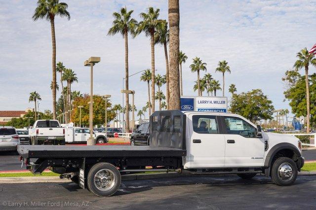 2019 F-450 Crew Cab DRW 4x2, Monroe Work-A-Hauler II Platform Body #19P851 - photo 9
