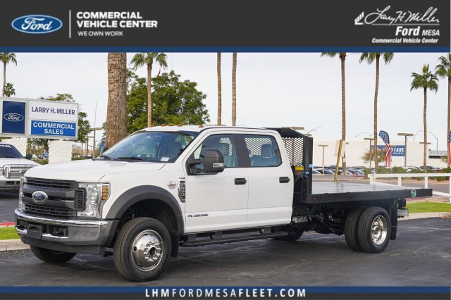 2019 F-450 Crew Cab DRW 4x2, Monroe Platform Body #19P852 - photo 1