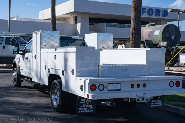2019 Ford F-550 Crew Cab DRW 4x2, Scelzi Welder Body #19P855 - photo 1