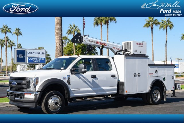 2019 Ford F-550 Crew Cab DRW 4x4, Reading Mechanics Body #19P874 - photo 1