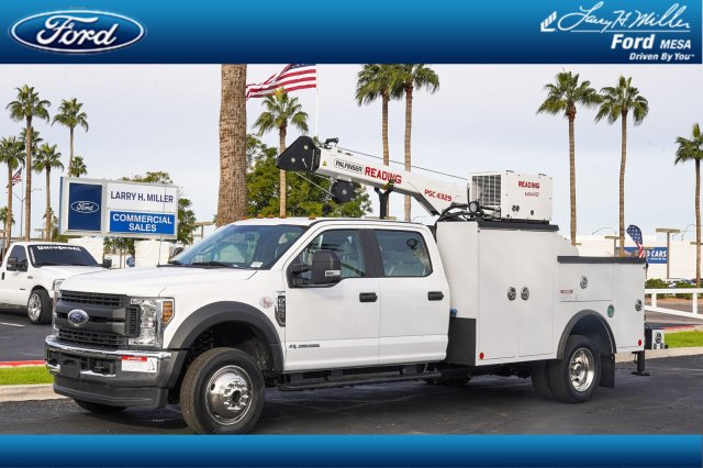 2019 Ford F-550 Crew Cab DRW 4x4, Reading Mechanics Body #19P875 - photo 1