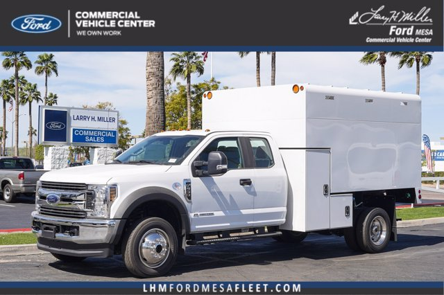 2019 Ford F-550 Super Cab DRW 4x4, Stahl Chipper Body #19P886 - photo 1