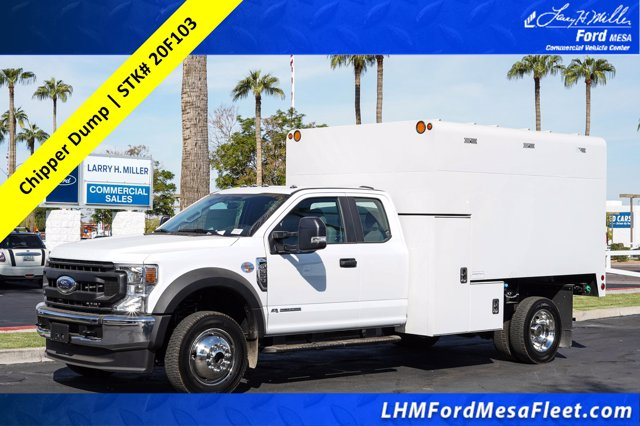 2020 Ford F-550 Super Cab DRW 4x4, Arbortech Chipper Body #20F103 - photo 1
