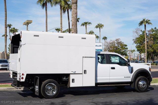 2020 Ford F-550 Super Cab DRW 4x4, Arbortech Chipper Body #20F103 - photo 11