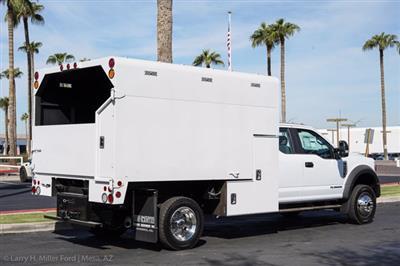 2020 Ford F-550 Super Cab DRW 4x4, Arbortech Chipper Body #20F103 - photo 10
