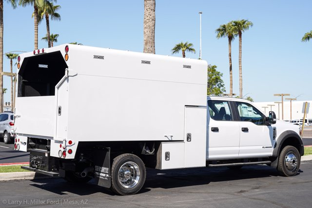 2020 Ford F-550 Crew Cab DRW 4x4, Stahl Chipper Body #20F106 - photo 11
