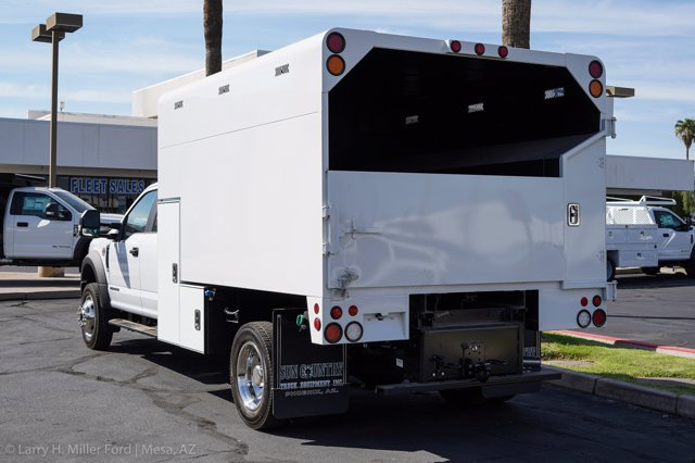 2020 Ford F-550 Crew Cab DRW 4x4, Arbortech Chipper Body #20F108 - photo 1
