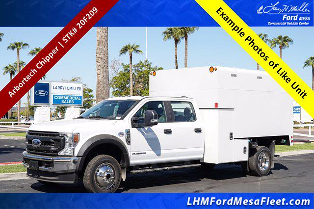 2020 Ford F-550 Crew Cab DRW 4x4, Stahl Chipper Body #20F209 - photo 1