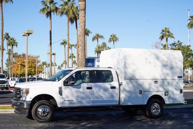2020 Ford F-350 Crew Cab DRW 4x4, Stahl Service Body #20F212 - photo 3