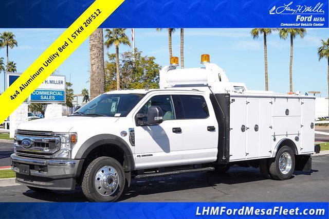 2020 Ford F-550 Crew Cab DRW 4x4, Milron Service Body #20F512 - photo 1