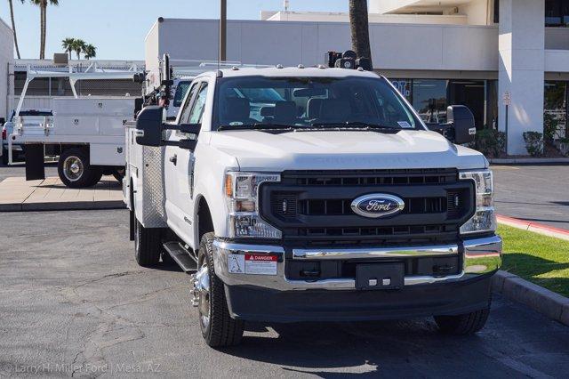 2020 Ford F-350 Super Cab DRW 4x4, Knapheide Steel Service Body Crane Body #20P095 - photo 16