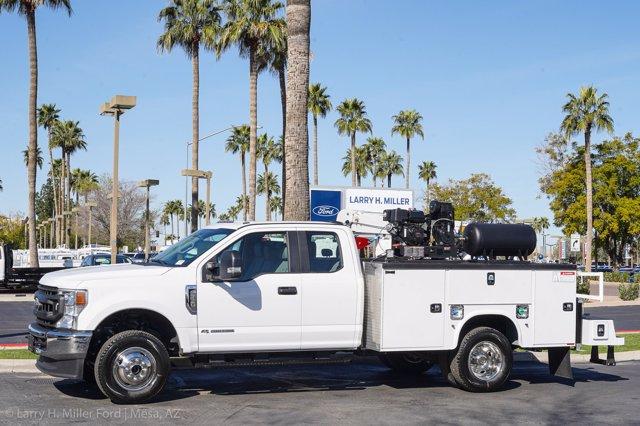 2020 Ford F-350 Super Cab DRW 4x4, Knapheide Steel Service Body Crane Body #20P095 - photo 3