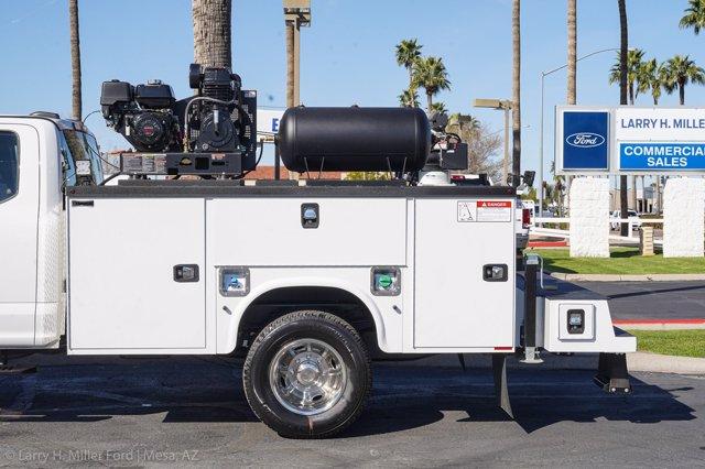 2020 Ford F-350 Super Cab DRW 4x4, Knapheide Steel Service Body Crane Body #20P095 - photo 6