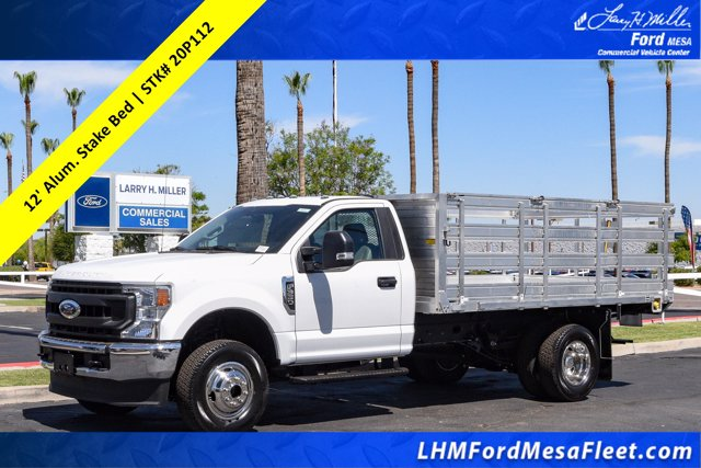 2020 Ford F-350 Regular Cab DRW 4x4, Monroe Stake Bed #20P112 - photo 1